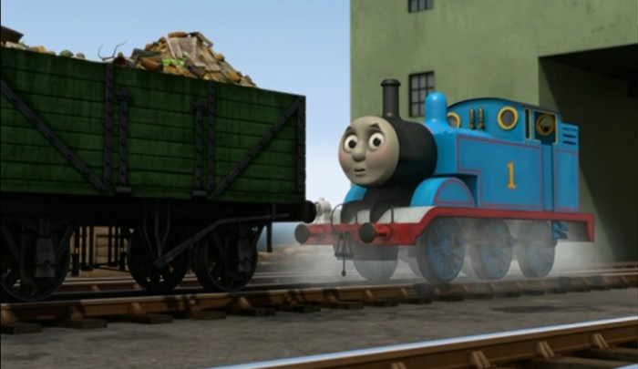 Thomas and the Garbage Train