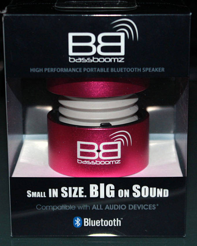 BassBoomz Bluetooth Wireless Audio Speaker Review & Discount #BassBoomz