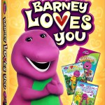 NEW 2013 Barney Loves You 3-DVD Set Review & Giveaway
