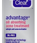 CLEAN  CLEAR ADVANTAGE Oil Absorbing Acne Treatment