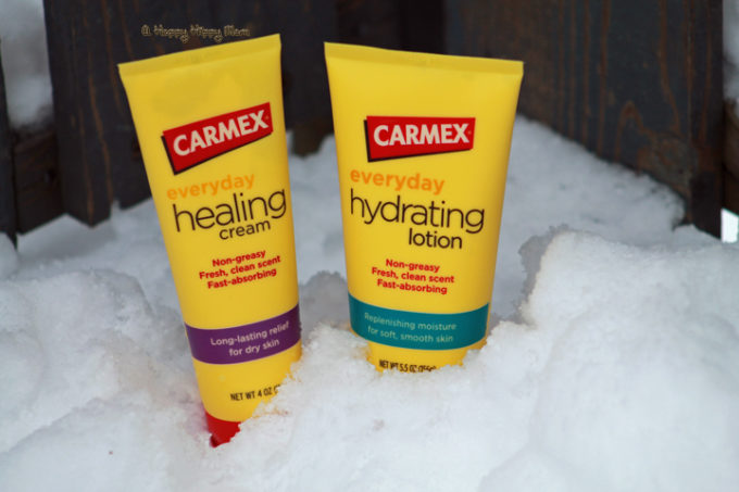 Carmex Healing Cream and Hydrating Lotion Review & Giveaway!