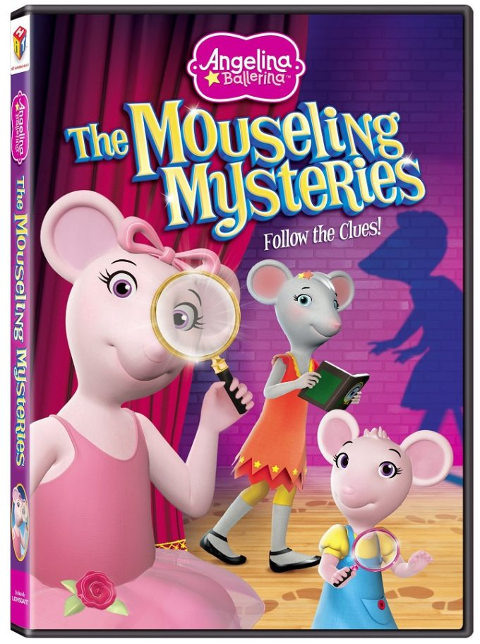 Angelina Ballerina: The Mouseling Mysteries DVD Giveaway!