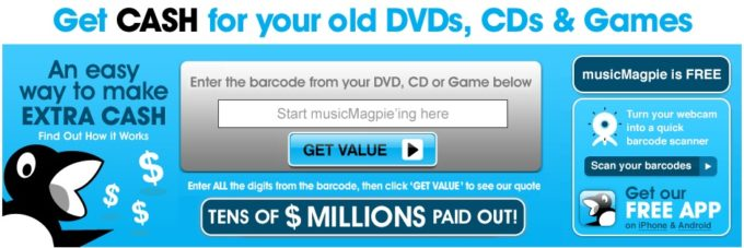 musicMagpie – Rewarding Spring Cleaning and Recycling With Cash!