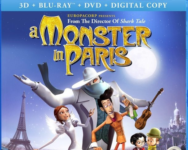 3D Review – A Monster in Paris Coming April 16th & Free Activities!