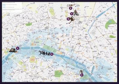 AMIP Paris map