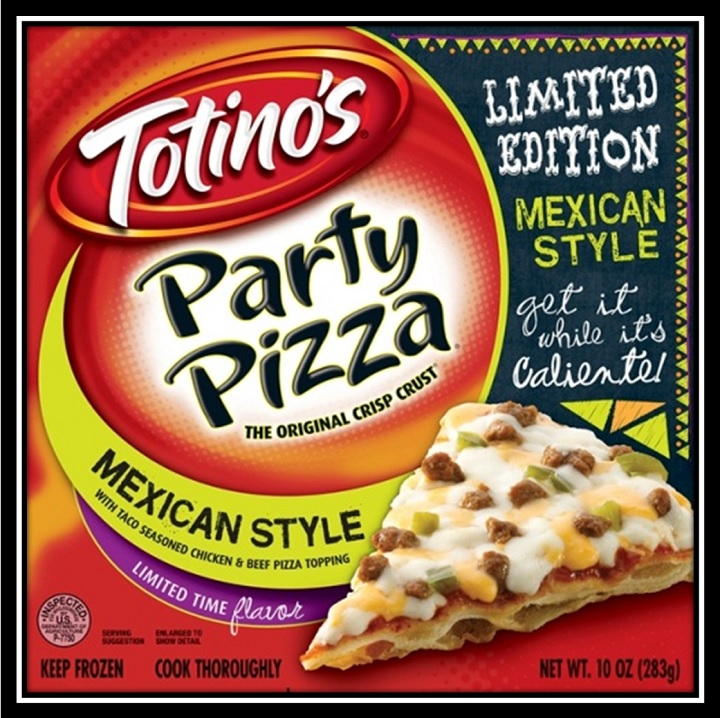 Totinos Mexican Style Party Pizza