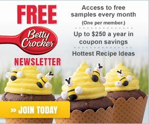 Become an Insider to Betty Crocker's Kitchen!
