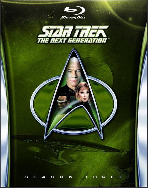 Star Trek The Next Generation Season Three Blu-ray Giveaway! $130 Value!