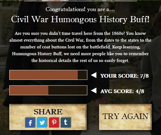 trivia results