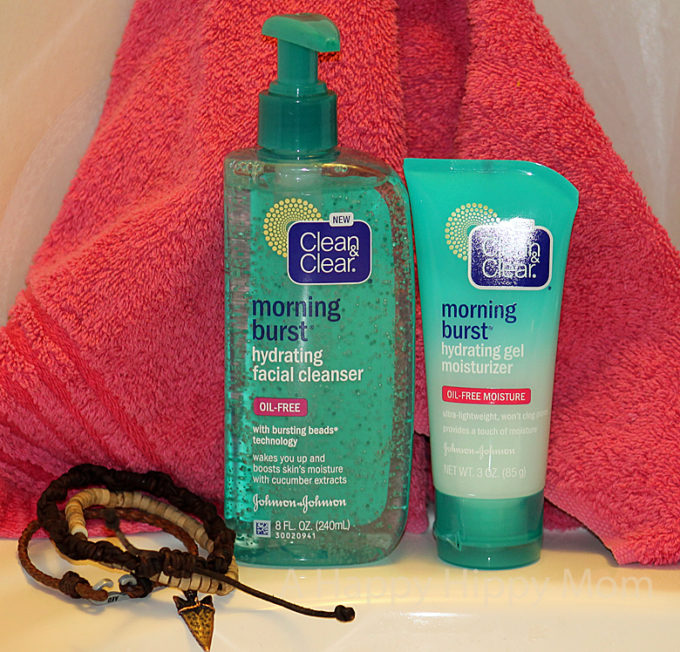 NEW Clean & Clear Morning Burst Hydrating Collection