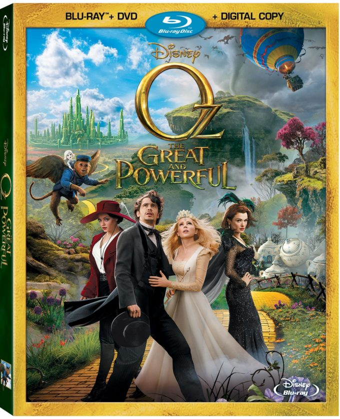 OZ THE GREAT AND POWERFUL Blu-ray Combo Pack Review & Giveaway!