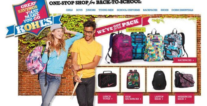 Kohl's Back-to-school Shopping Strategy, Favorite Brands, & Backpacks! #sponsored
