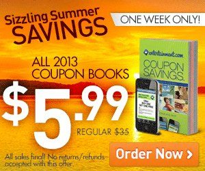 Entertainment Book 2013 ONLY $5.99 – Regularly Priced At $35!