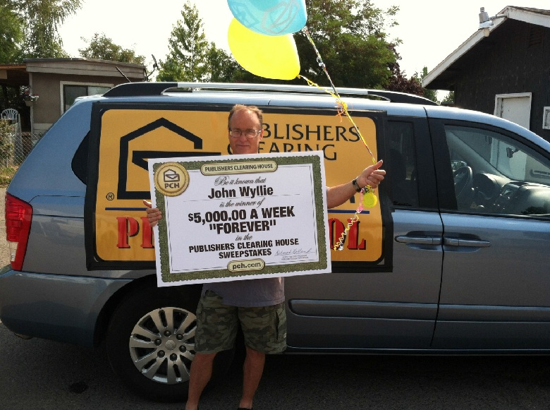 "Publishers Clearing House $5,000 A Week ""Forever"" Prize Sweepstakes"