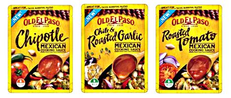 Old El Paso Mexican Cooking Sauces