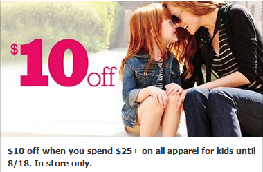 10 off 25 kohl's coupon