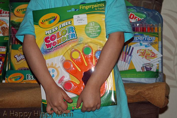 Crayola Fingerpaints