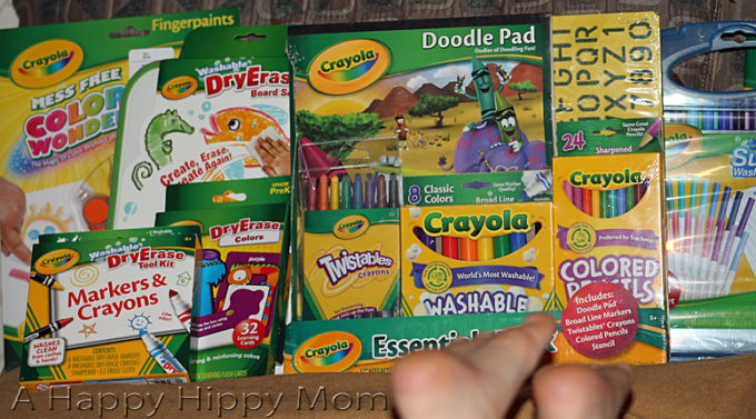 Back To School With Crayola, Coupons, & $25 Visa Giveaway!