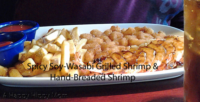 Spicy Soy-Wasabi Grilled Shrimp & Hand-Breaded Shrimp