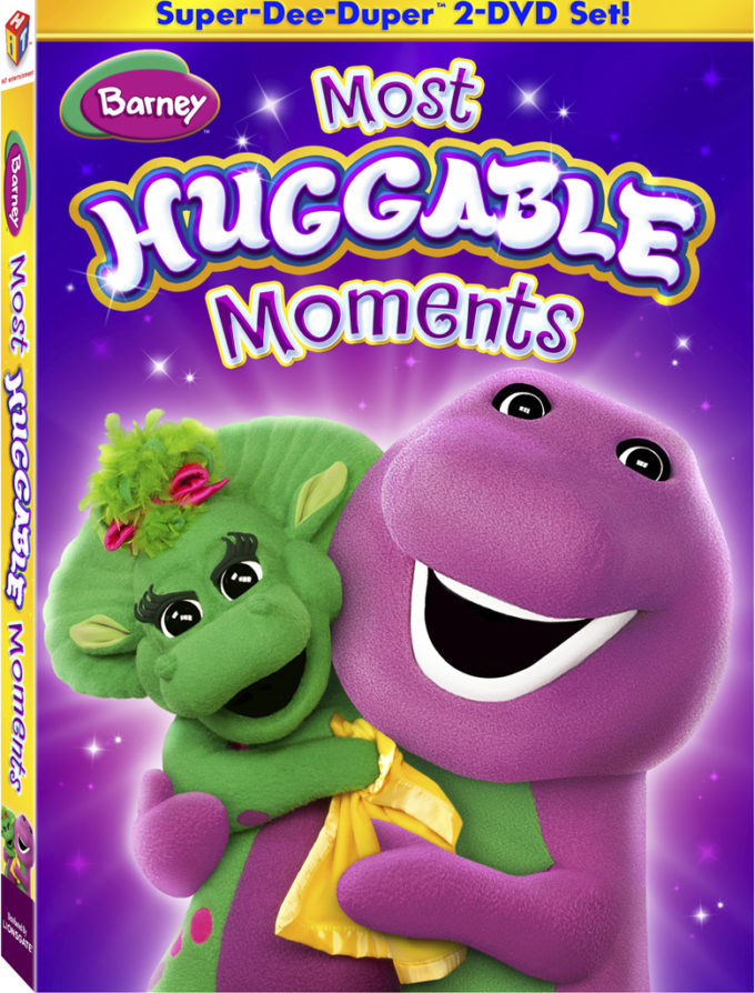 Barney Most Huggable Moments 2-Disc DVD & Giveaway!