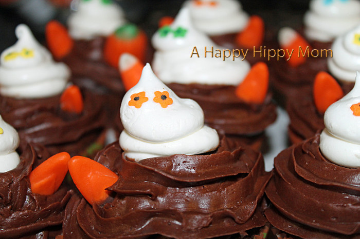 Haunted Ghost Cupcakes