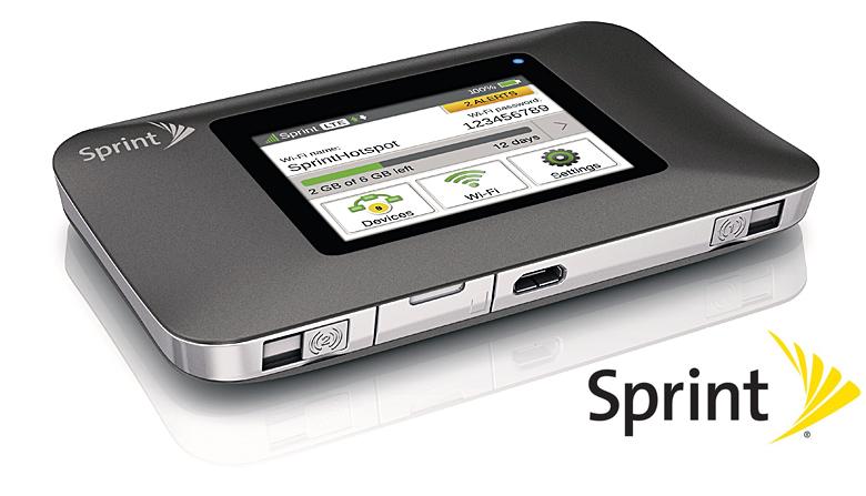 Sprint Netgear Zing Mobile Hotspot