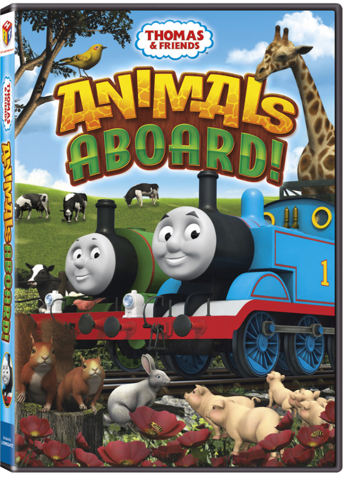 Thomas & Friends Animals Aboard DVD Review & Giveaway