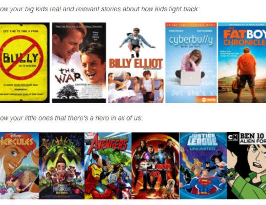 Netflix anti-bullying movies