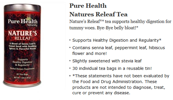 Pure Health Natures Releaf Tea