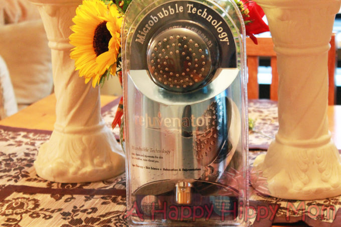 The Rejuvenator Micro Bubble Shower Head Review!  Giveaway Coming Soon!