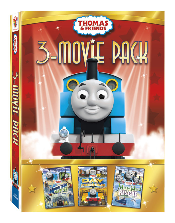 NEW Thomas & Friends 3 Movie Pack (2013) Review- Great Holiday Gift Under $20!