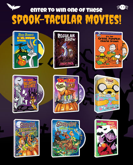 Warner Bros Halloween Spook-tacular DVD Giveaway and Exclusive Blog App! #WBhalloween