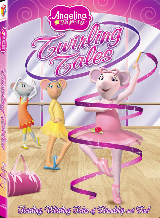 Angelina Ballerina Twirling Tales DVD Review, Free Coloring Sheet & Giveaway