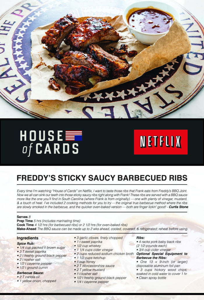 Freddy's Sticky Saucy Ribs Recipe