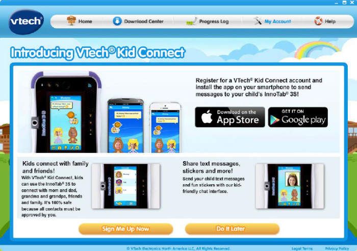 Kid Connect app