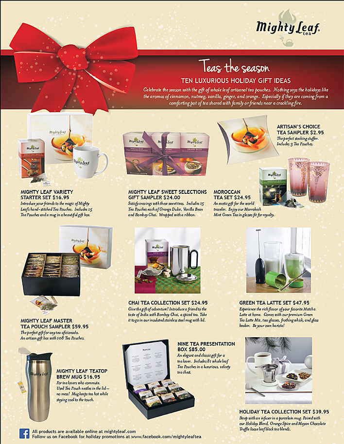 Mighty Leaf Tea Gift Guide