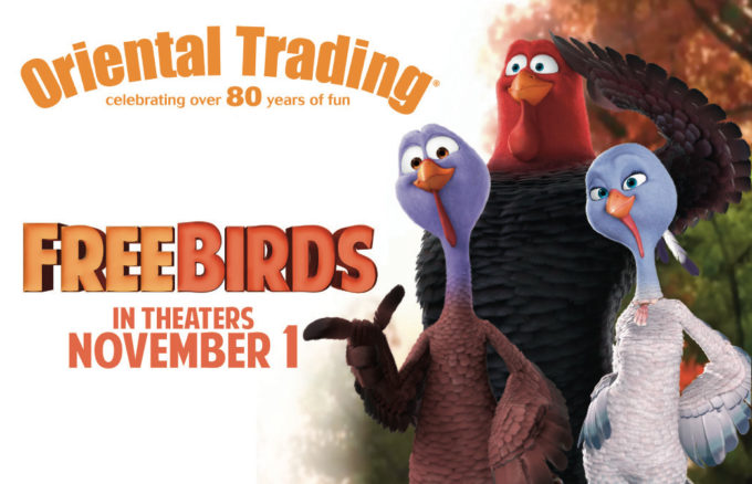 Free Birds Prize Pack Giveaway- Oriental Trading Company $50 GC & More! #FreeBirds