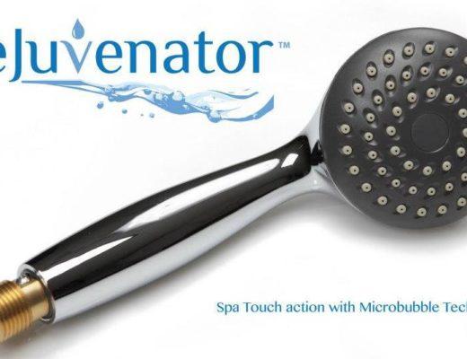 The Rejuvenator Micro Bubble Shower Head
