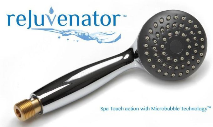 The Rejuvenator Micro Bubble Shower Head Giveaway & Exclusive 30% Off Code!