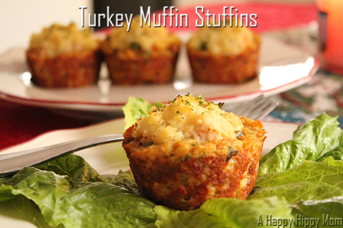 What to do with turkey leftovers!  Turkey Muffin Stuffins – #23 Good Cook Leftover Recipe