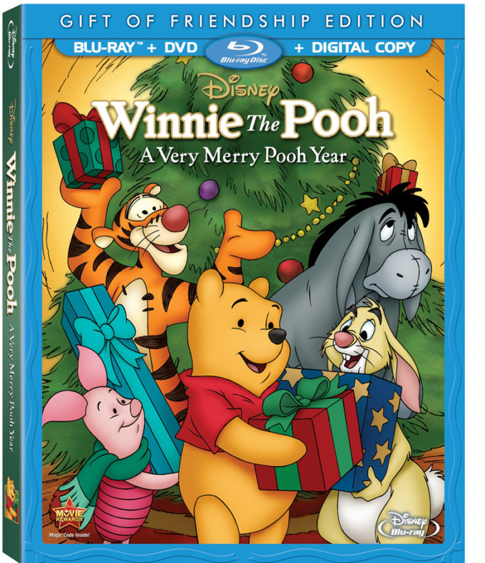 Join the Winnie the Pooh Characters in A Very Merry Pooh Year -Blu-ray Review!