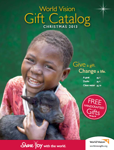 World Vision Catalog 2013