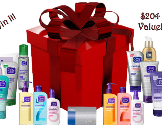 clean and clear giveaway