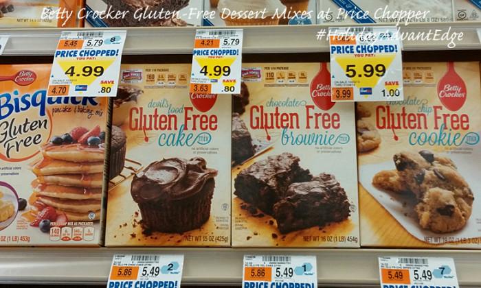 Betty Crocker Gluten Free Dessert Mixes #HolidayAdvantEdge #shop #cbias