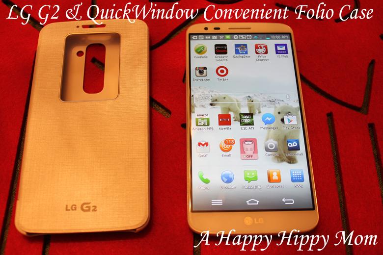 LG G2 & QuickWindow Folio Case #Sprintmom #MC