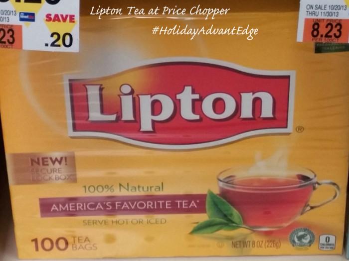 Lipton Tea #HolidayAdvantEdge #shop #cbias
