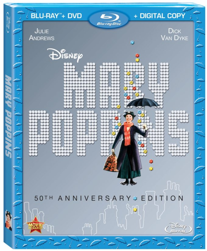 Disney Mary Poppins 50th Anniversary on Blu-ray Review