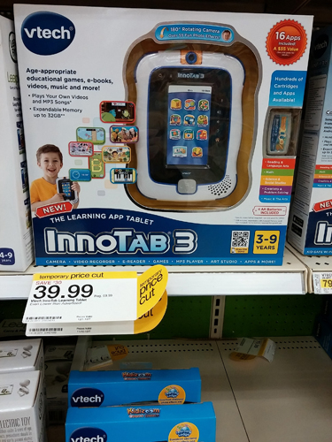 Price Cut on InnoTab 3