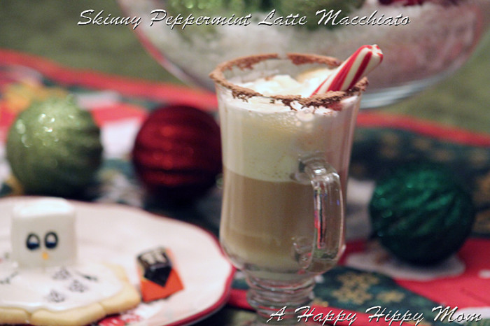 Skinny Peppermint Latte Macchiato