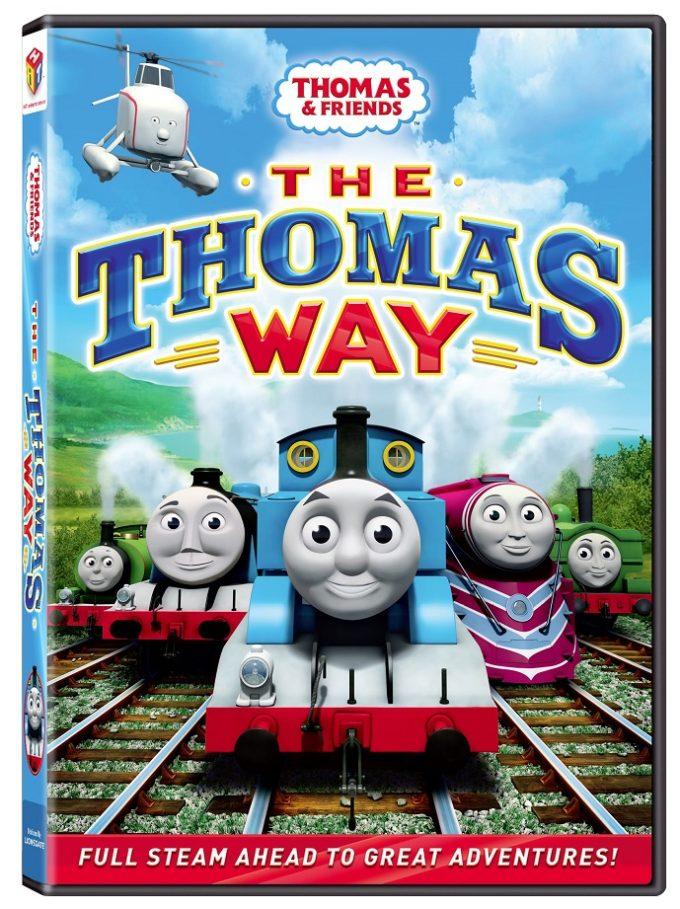 Thomas & Friends The Thomas Way DVD, Free Coloring Sheet & Giveaway!